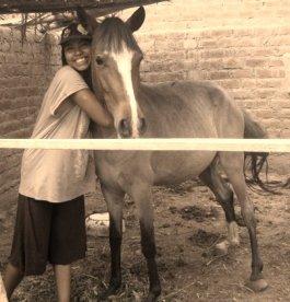 Umakun me permitió darle un abrazo (años que quedan sólo en recuerdos)