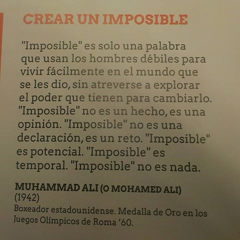 crear un imposible